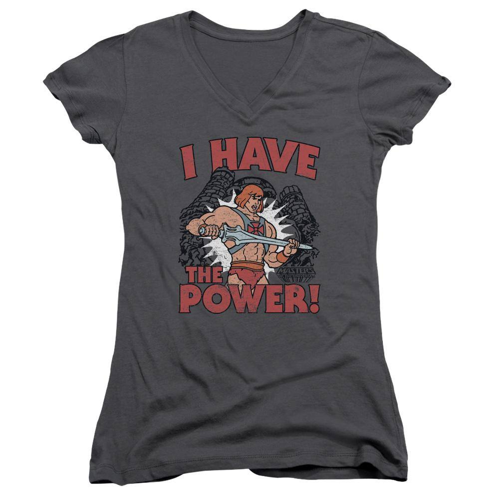 Masters Of The Universe I Have The Power Juniors T-Shirt - Rocker Merch