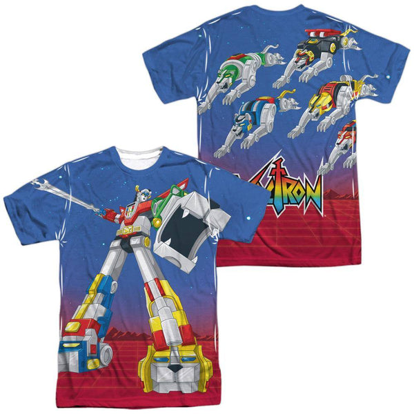 Voltron Form Voltron Sublimation T-Shirt - Rocker Merch
