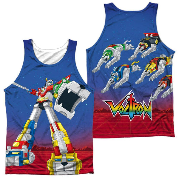 Voltron Form Voltron Sublimation Tank Top - Rocker Merch