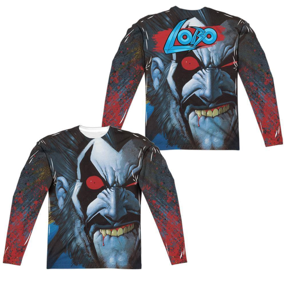 Lobo Bit Lip Sublimation Long Sleeve T-Shirt