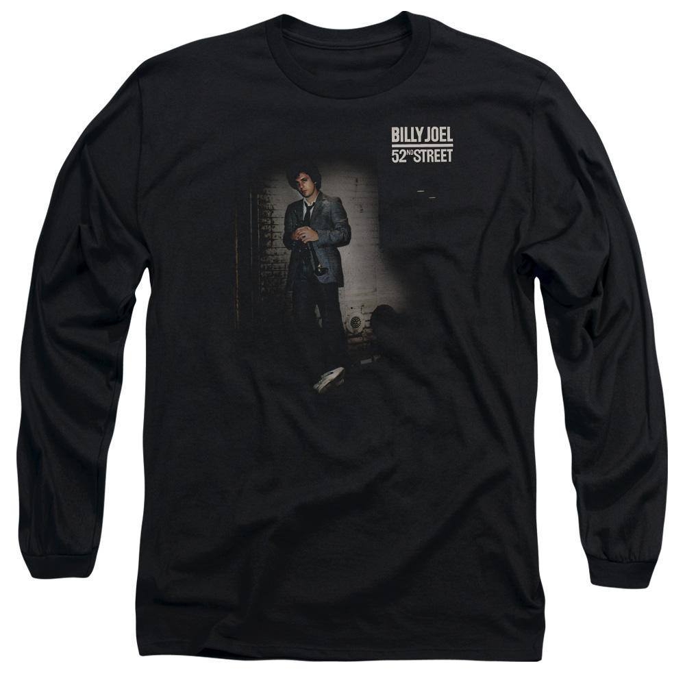 Billy Joel 52nd Street Album Cover Long Sleeve T-Shirt