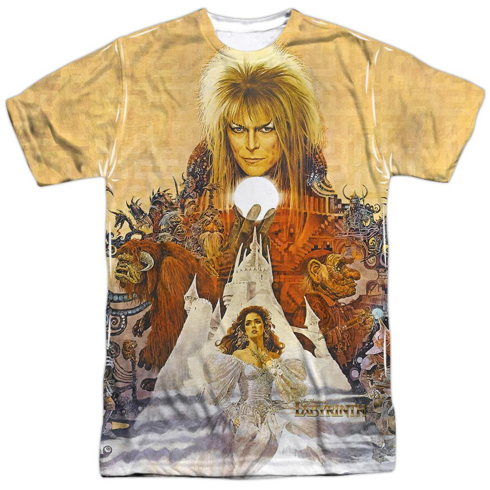 Labyrinth Movie Cover Art Sublimation T-Shirt