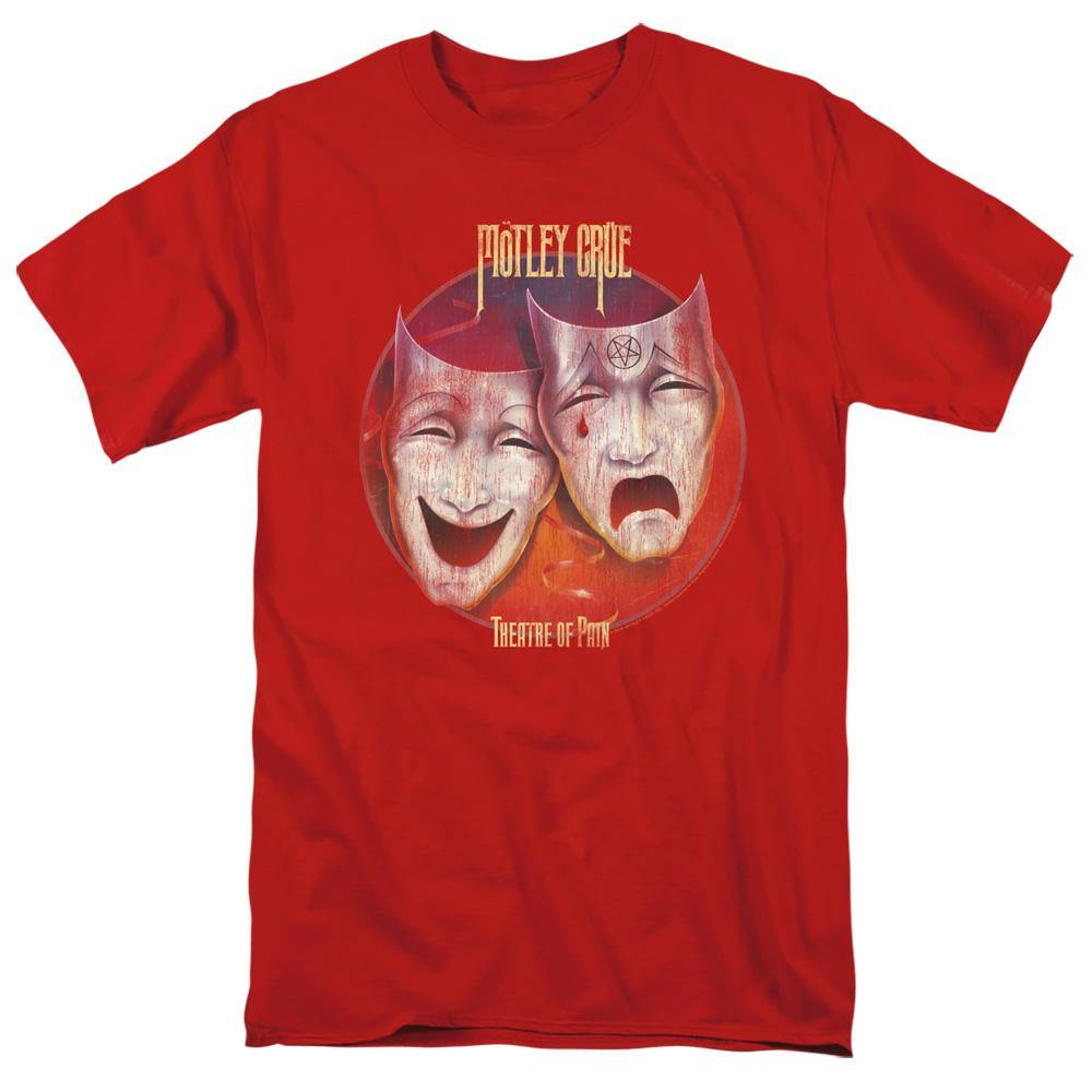 Motley Crue Theater Of Pain Album Cover T-Shirt