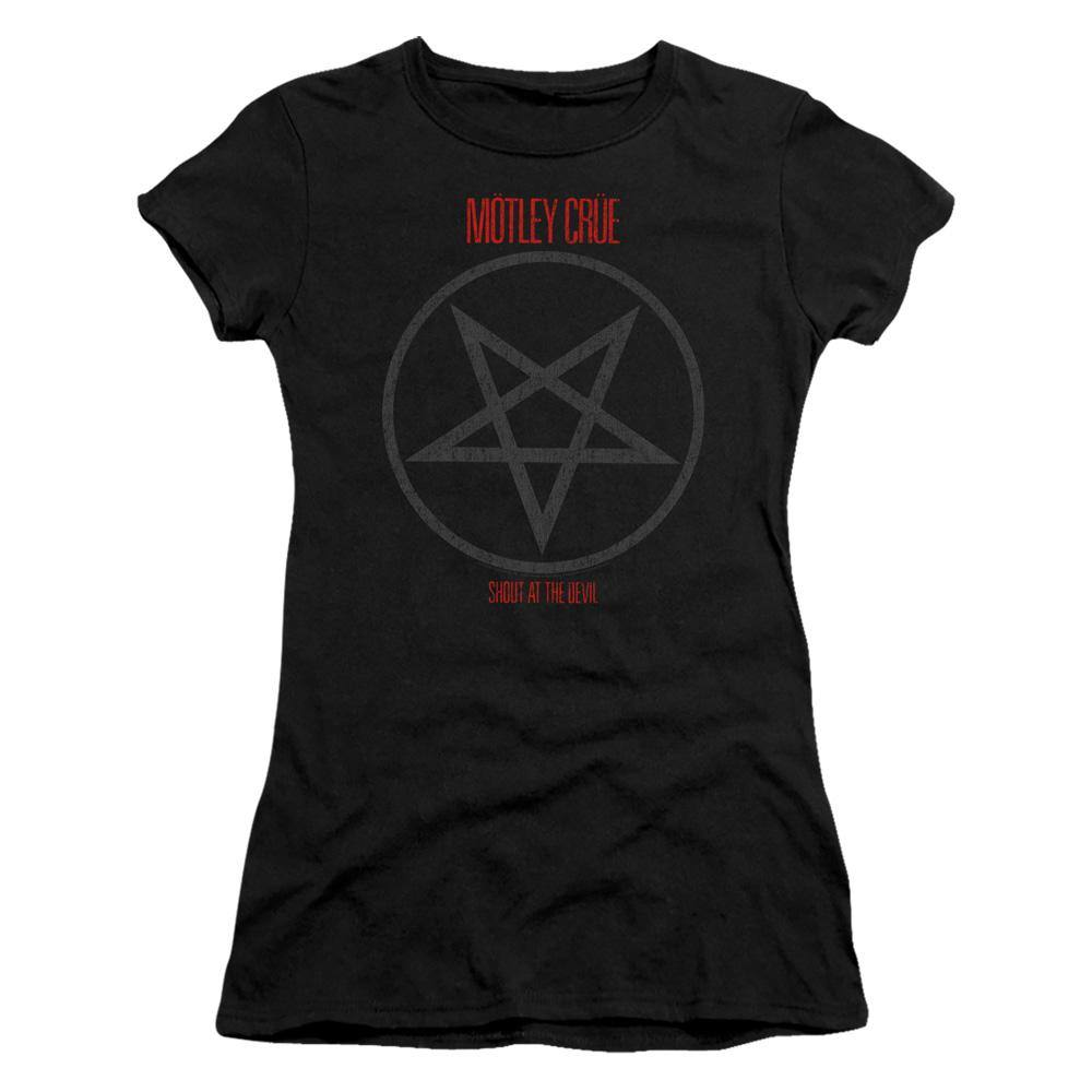 Motley Crue Shout At The Devil Juniors T-Shirt - Rocker Merch