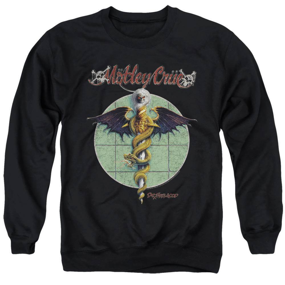 Motley Crue Dr Feelgood Album Cover Sweatshirt