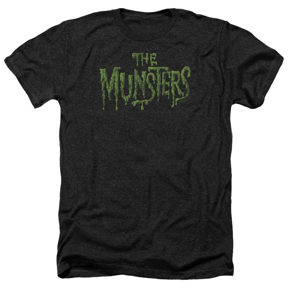 The Munsters Distressed Logo T-Shirt - Rocker Merch