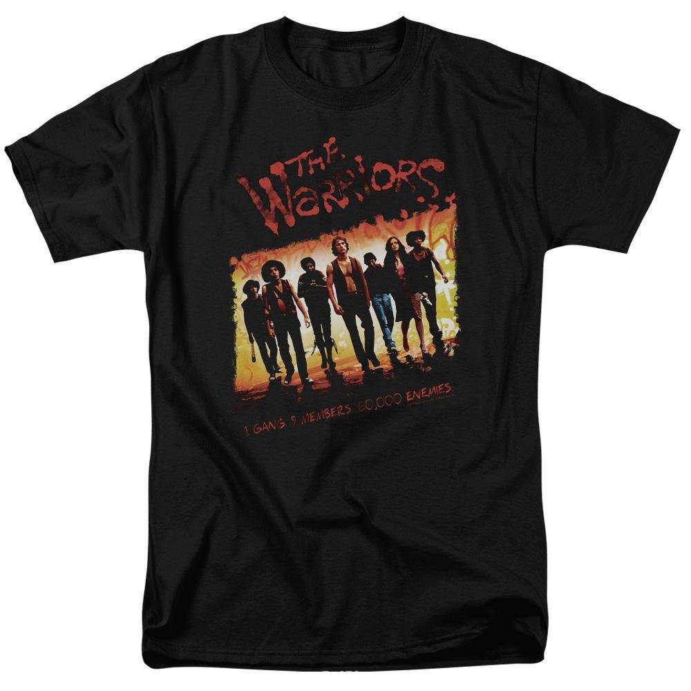 The Warriors Movie Distressed One Gang T-Shirt - Rocker Merch