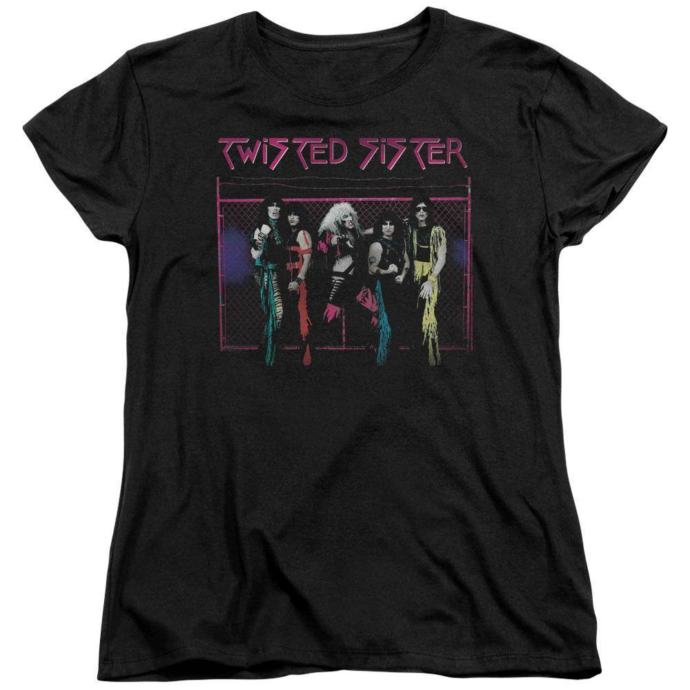 Twisted Sister Neon Gate Tank Women's T-Shirt