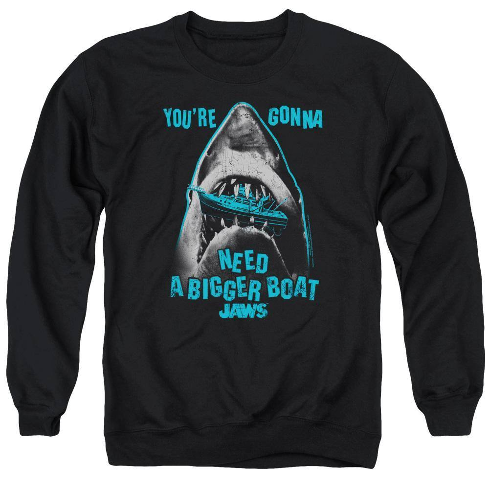 Jaws Boat In Mouth Sweatshirt