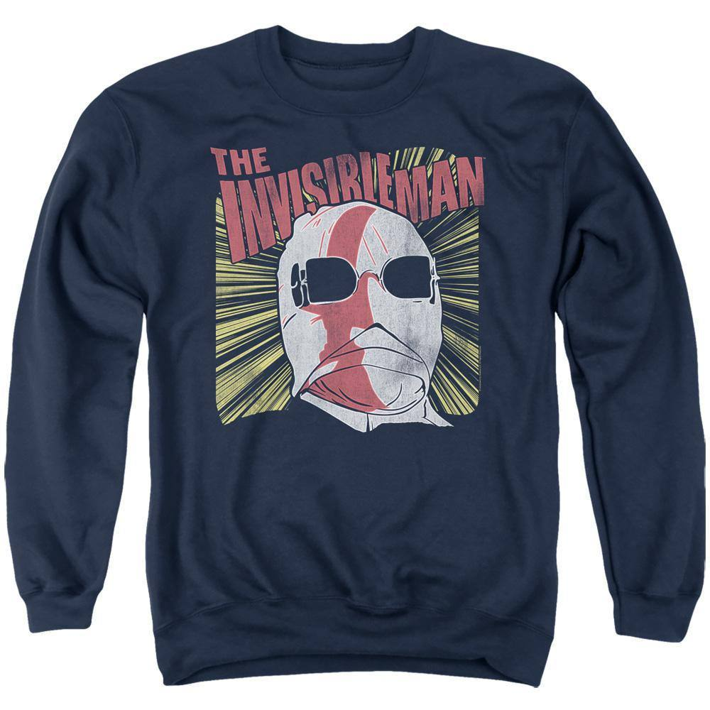 Universal Monsters The Invisible Man Portrait Sweatshirt