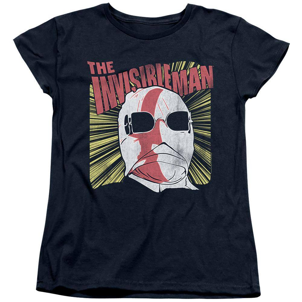 Universal Monsters The Invisible Man Portrait Women's T-Shirt