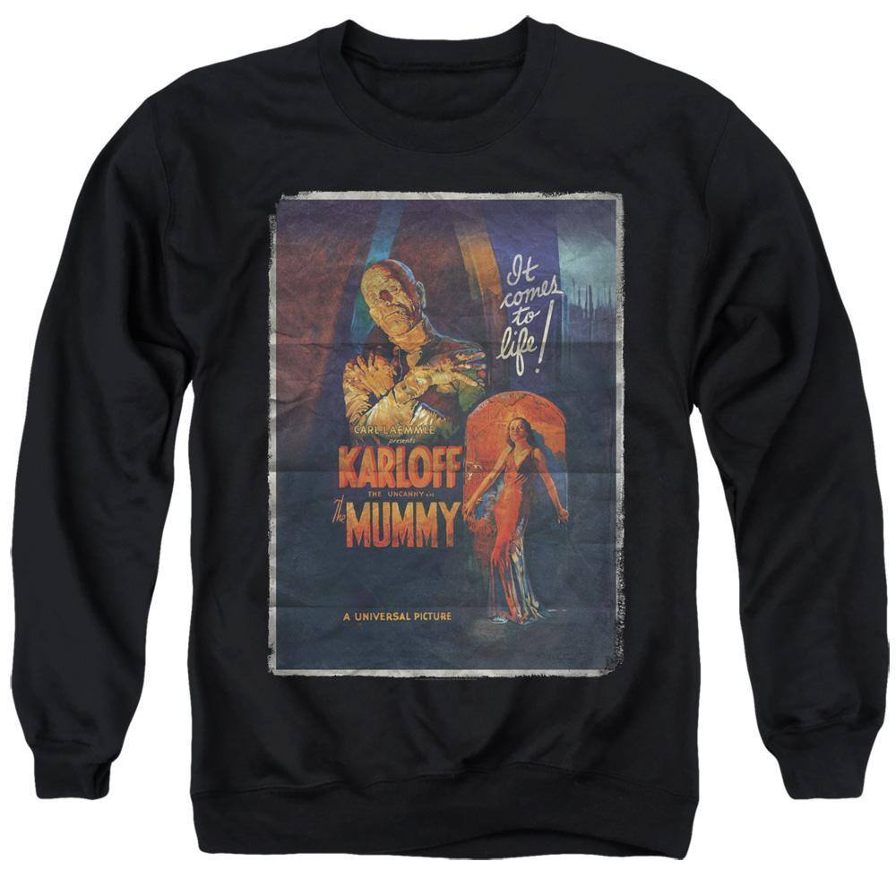 Universal Monsters The Mummy Movie Poster Sweatshirt - Rocker Merch