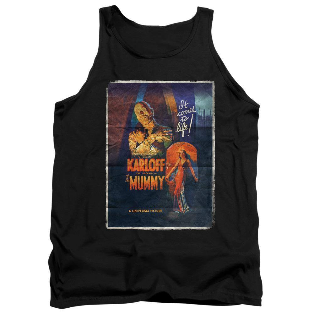 Universal Monsters The Mummy Movie Poster Tank Top - Rocker Merch