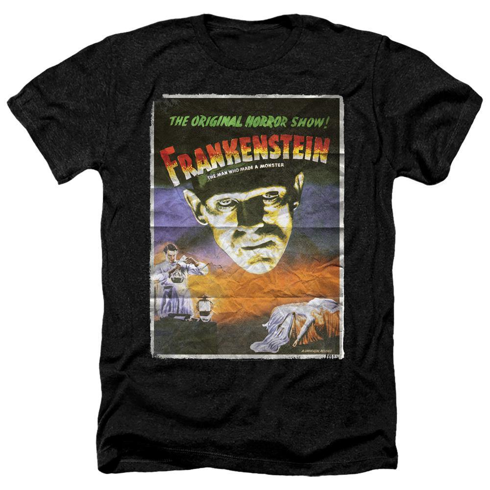 Universal Monsters Frankenstein 1931 Movie Poster T-Shirt - Rocker Merch