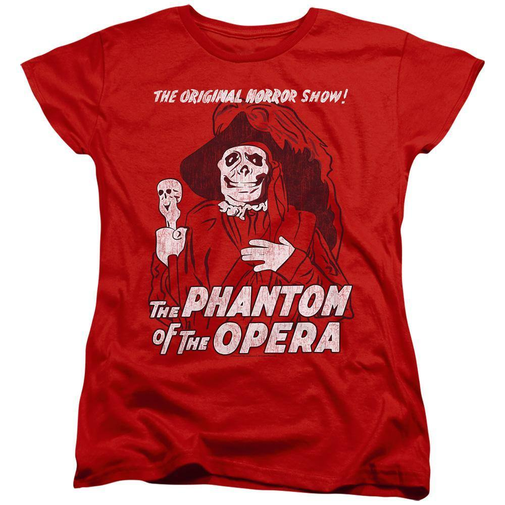 Universal Monsters Phantom Of The Opera Women's T-Shirt
