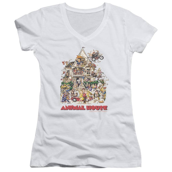 Animal House Movie Poster Art Juniors T-Shirt
