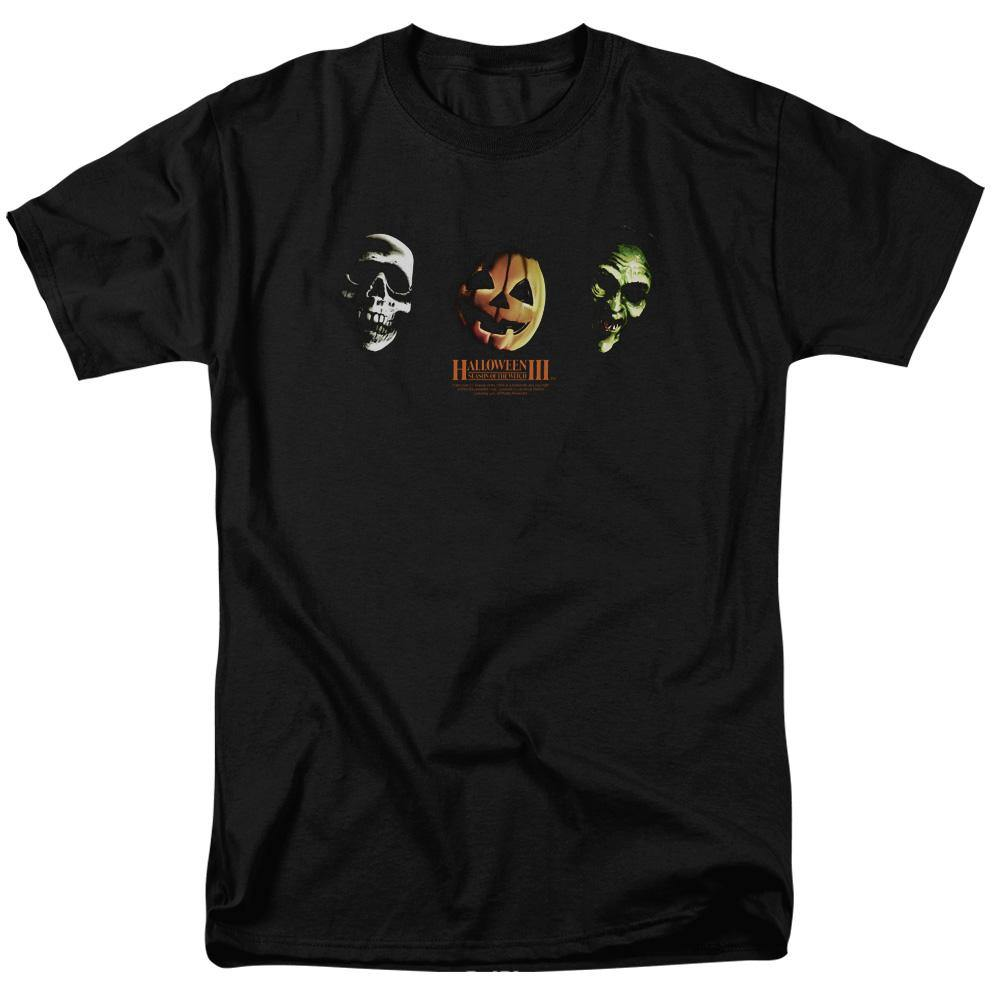 Halloween III Season Of The Witch Three Masks T-Shirt