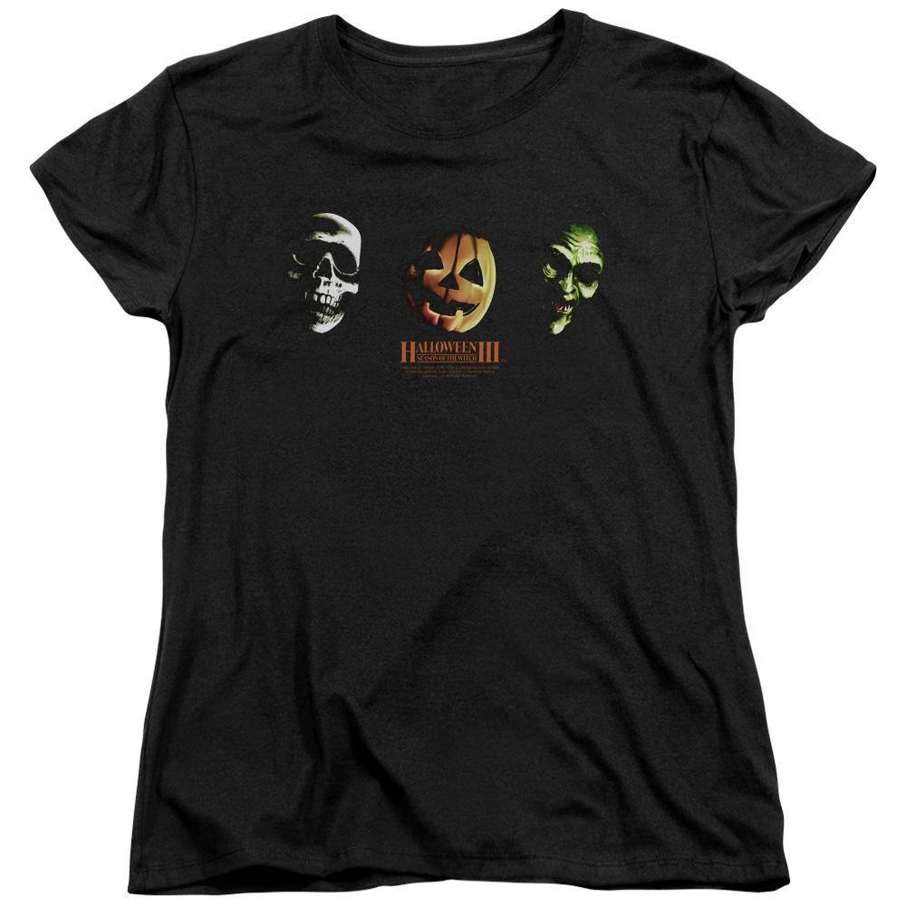 Halloween III Season Of The Witch Three Masks Women's T-Shirt