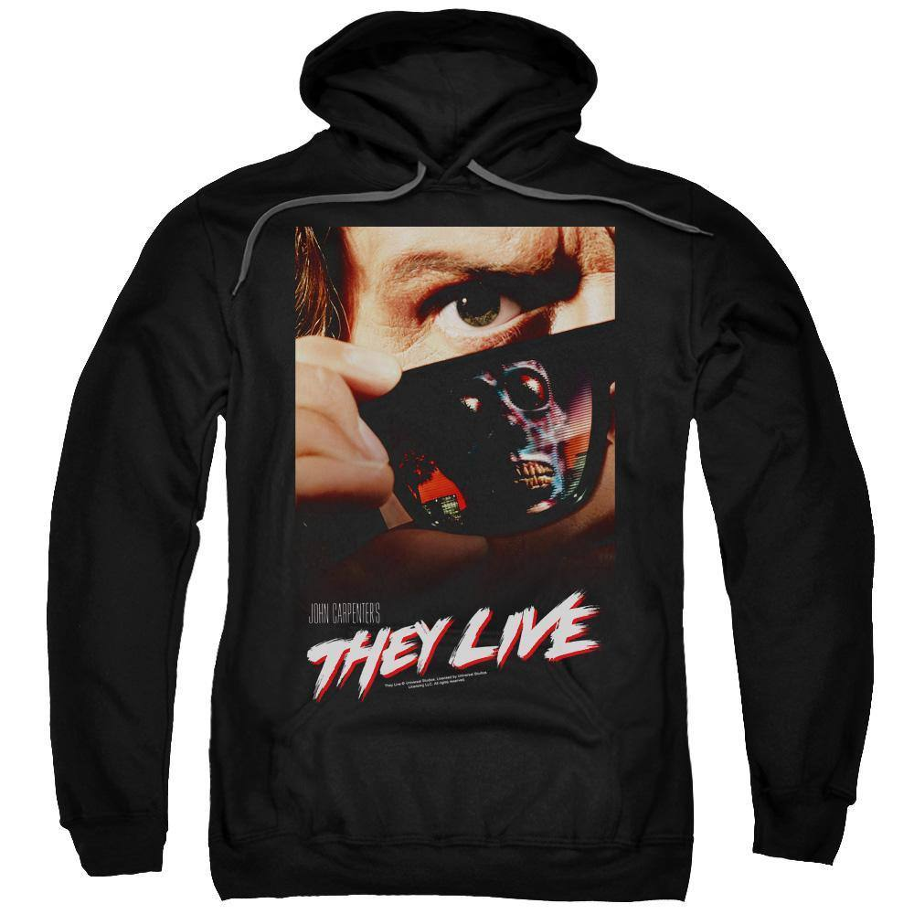 They Live Movie Poster Hoodie
