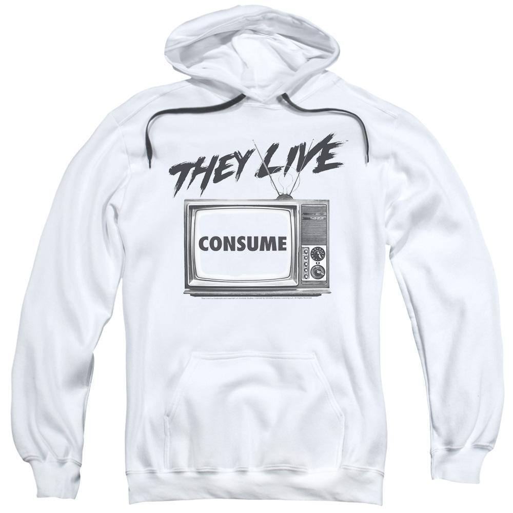 They Live Movie Consume Hoodie