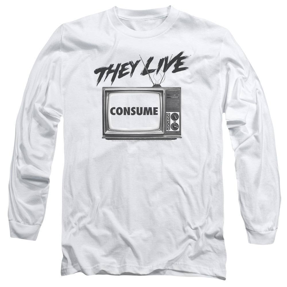They Live Movie Consume Long Sleeve T-Shirt