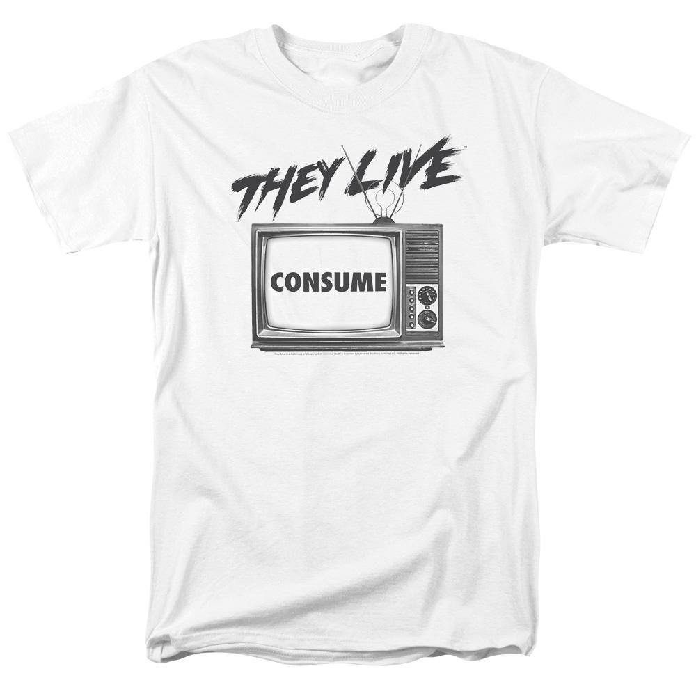 They Live Movie Consume T-Shirt