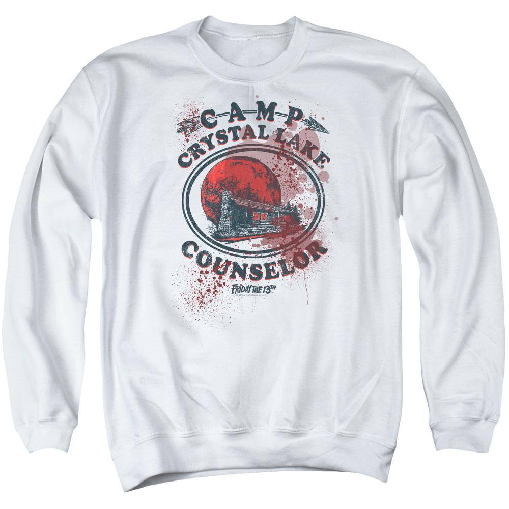 Friday The 13th Bloody Camp Counselor Sweatshirt