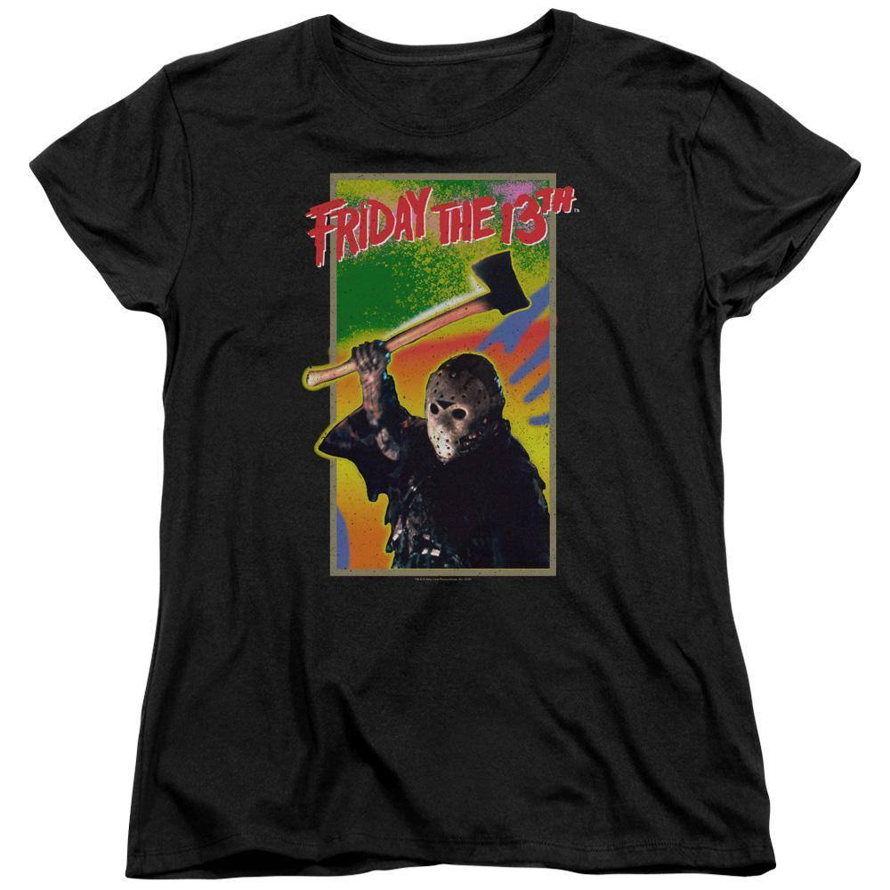 Friday The 13th Retro Nintendo Game Women's T-Shirt