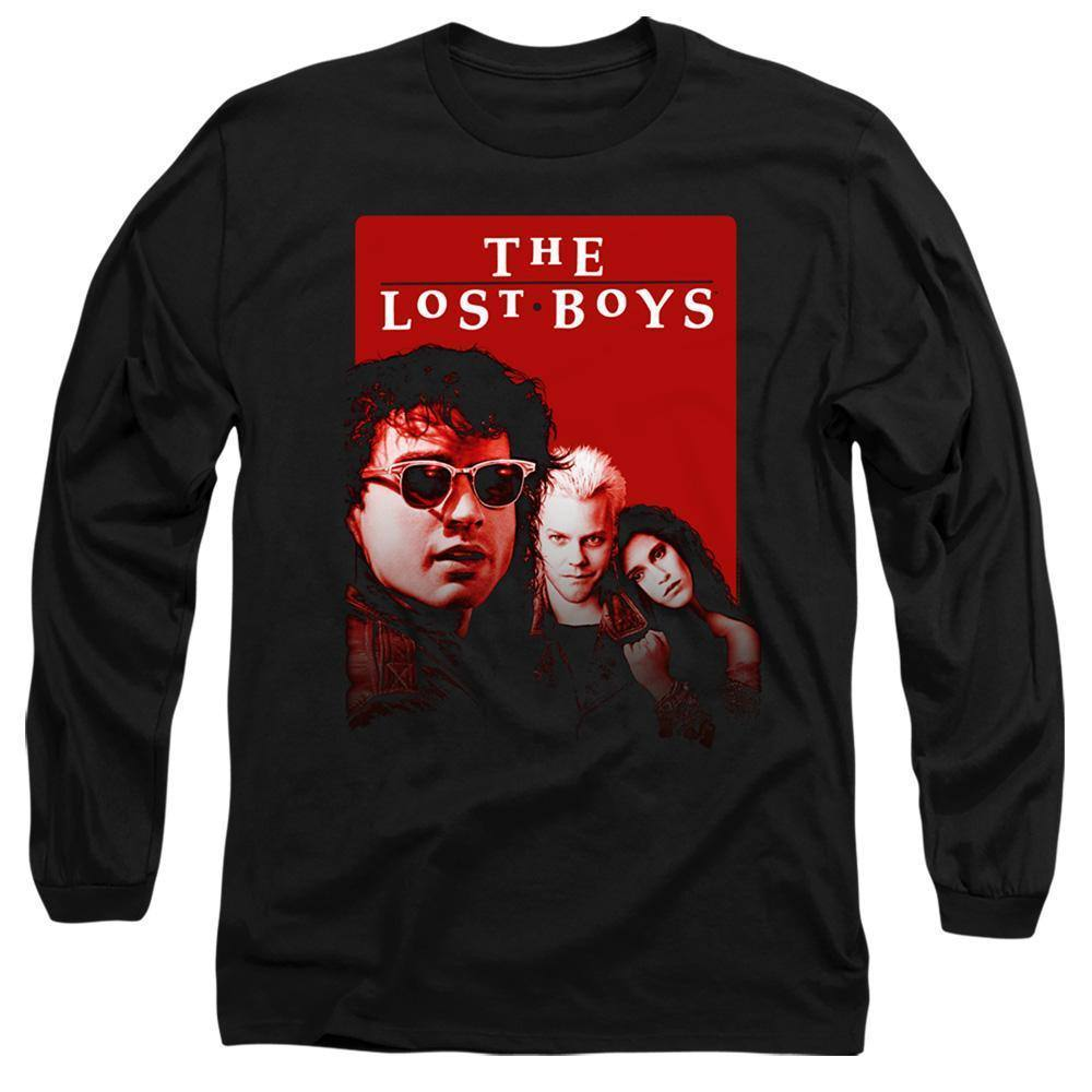 The Lost Boys Movie Michael David Star Long Sleeve T-Shirt