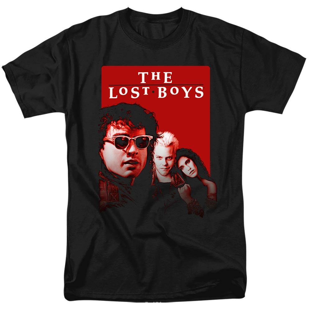 The Lost Boys Movie Michael David Star T-Shirt - Rocker Merch