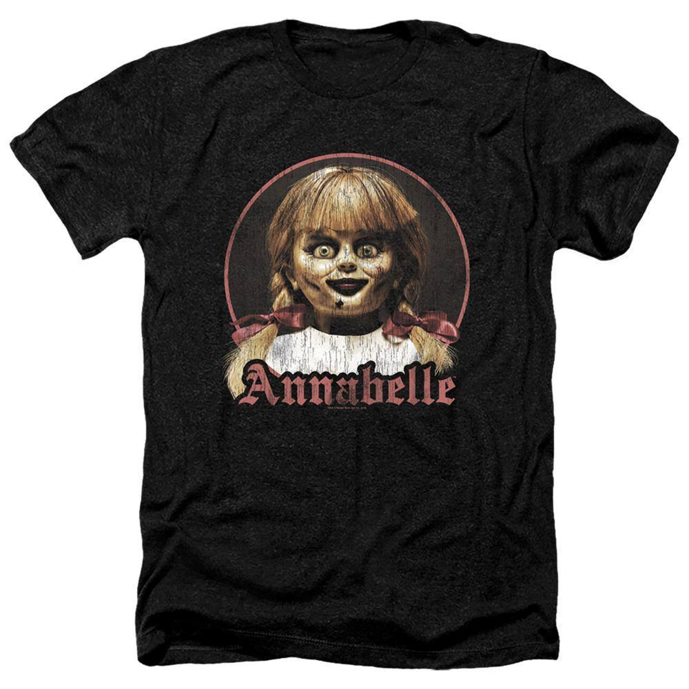 Annabelle Movie Distressed Portrait T-Shirt - Rocker Merch
