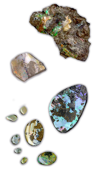Canadian Opals in Vernon, British Columbia, Canada - Opal mining and opal jewellery