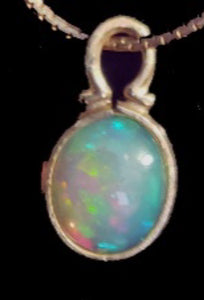 Crystal Opal Pendant - CD20-P0014