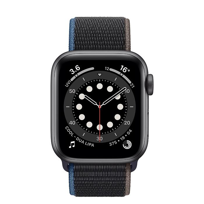 Apple Watch Series 6 Space Gray Aluminum Case with Sport Loop (44mm/40mm GPS ) - iStock BD
