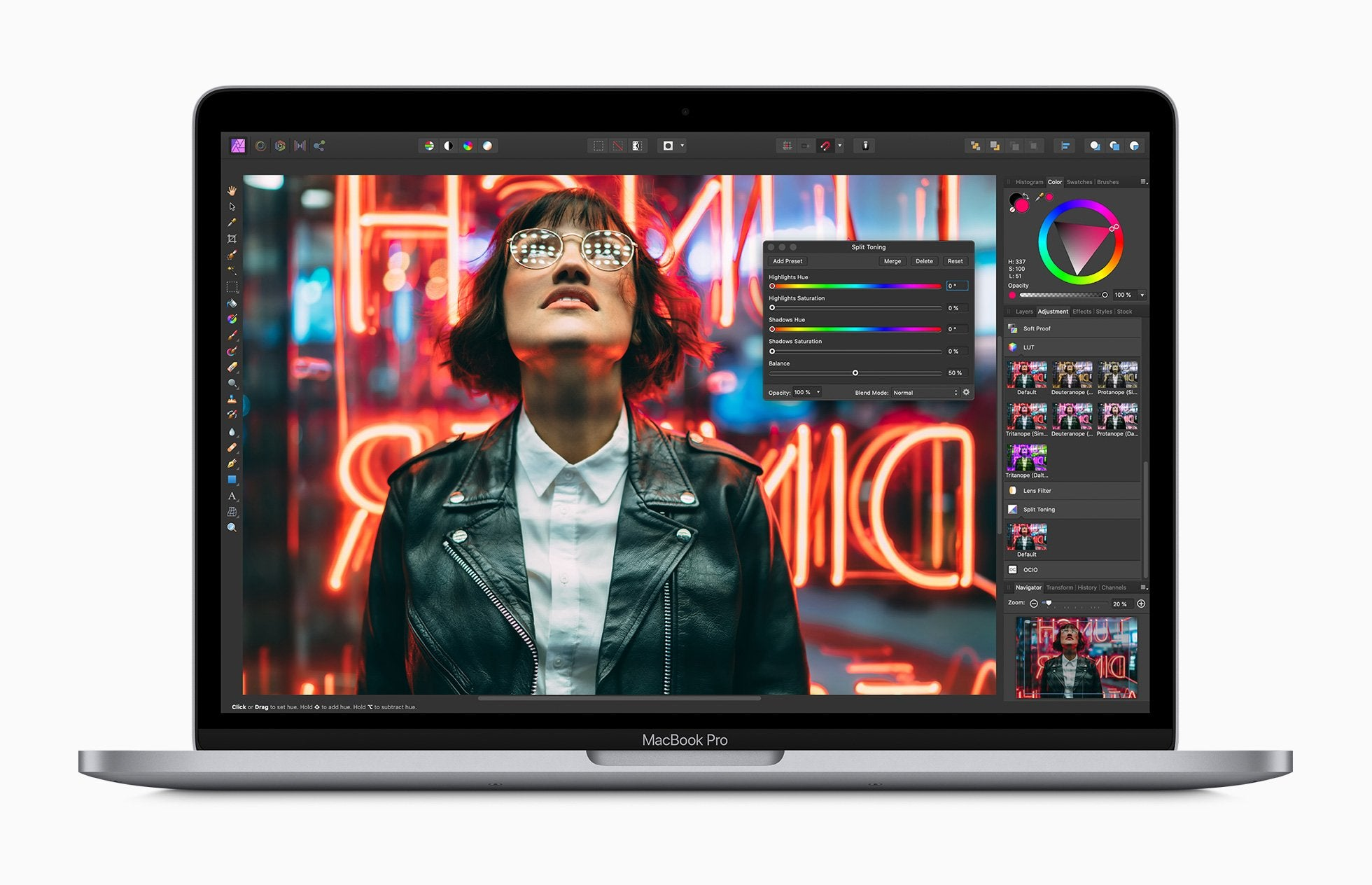 NEW Apple Macbook Pro 13 Inch Laptop 2020 Model (2.0GHz quad‑core 10th‑generation Intel Core i5, 16GB, 1TB SSD) - iStock BD