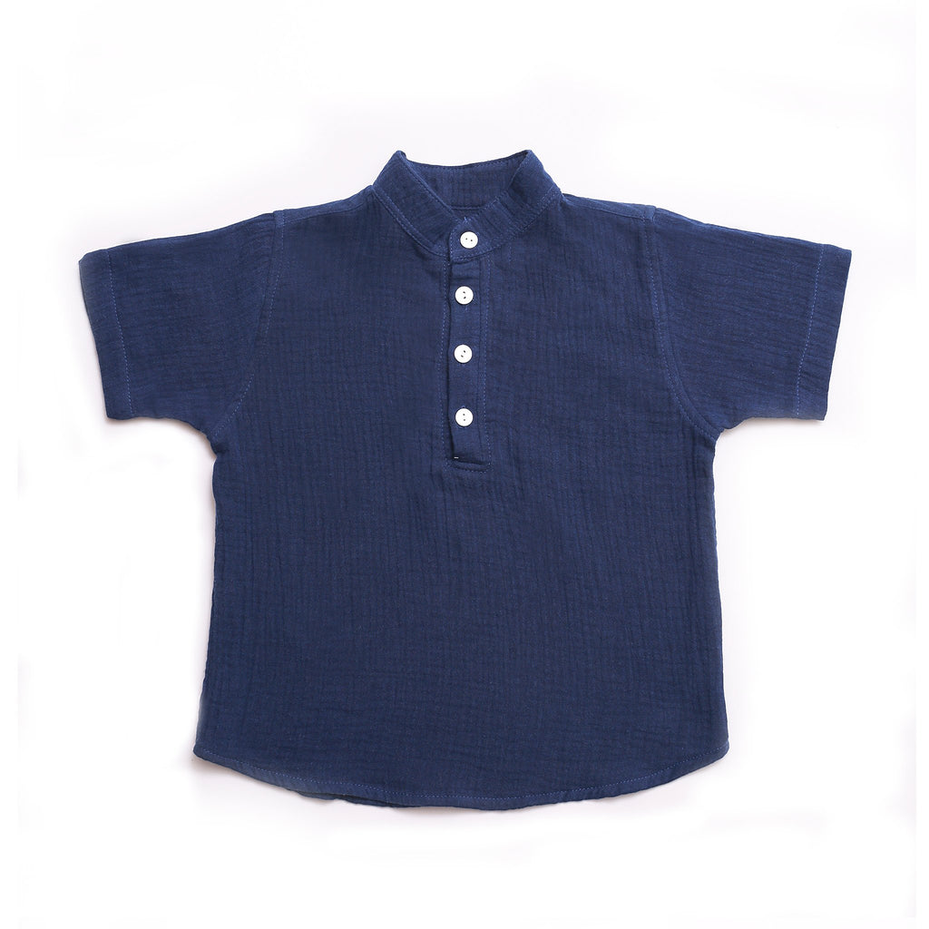 DUXTON KIDS | Cameron Shirt - Navy