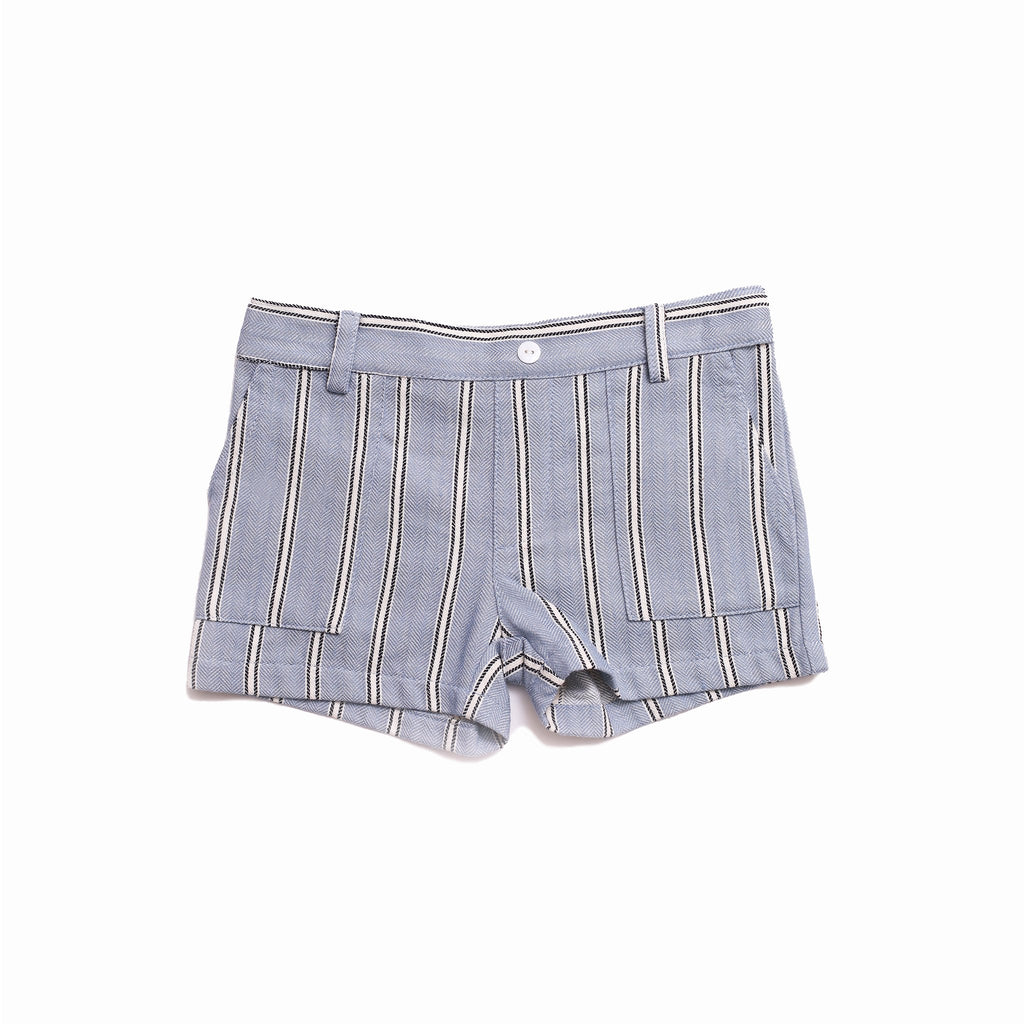 DUXTON KIDS | Rooney Shorts - Blue White Stripe