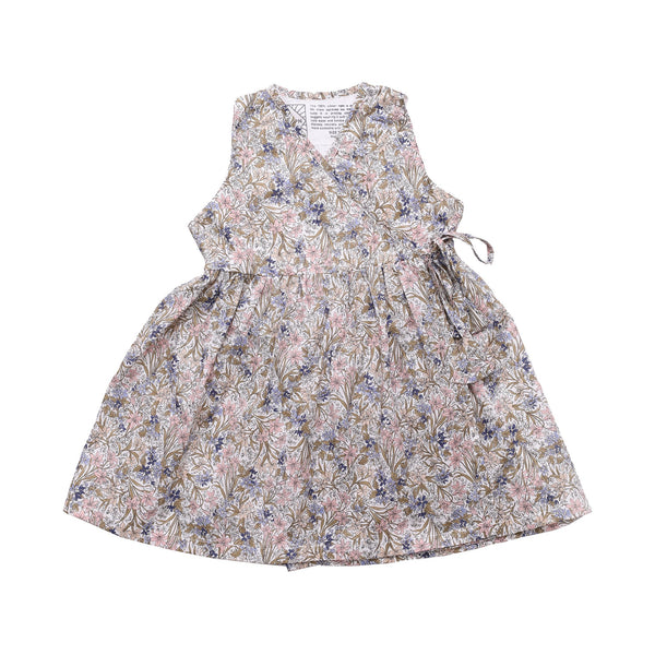 DUXTON KIDS | Sleeveless Dress - White Floral