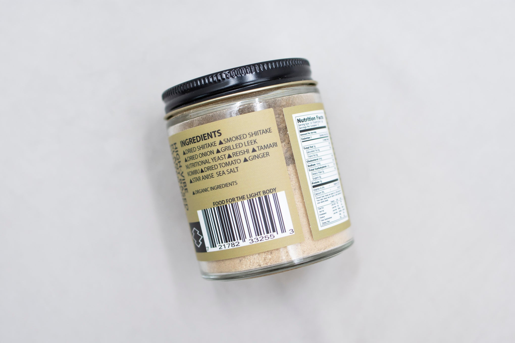 Umami Powder label