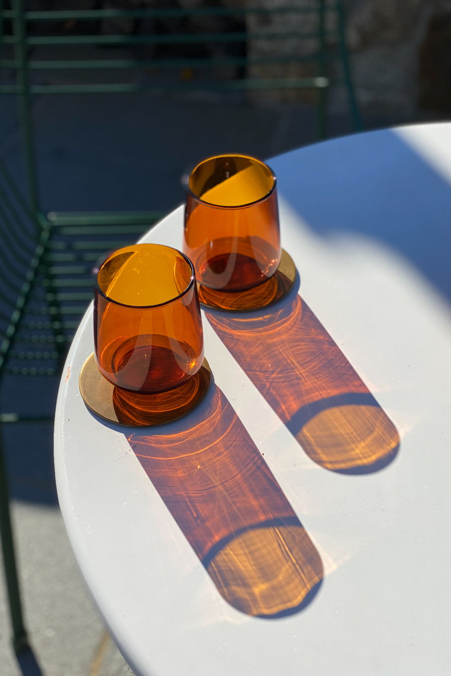 Sepia Amber Tumbler (Set of 4)