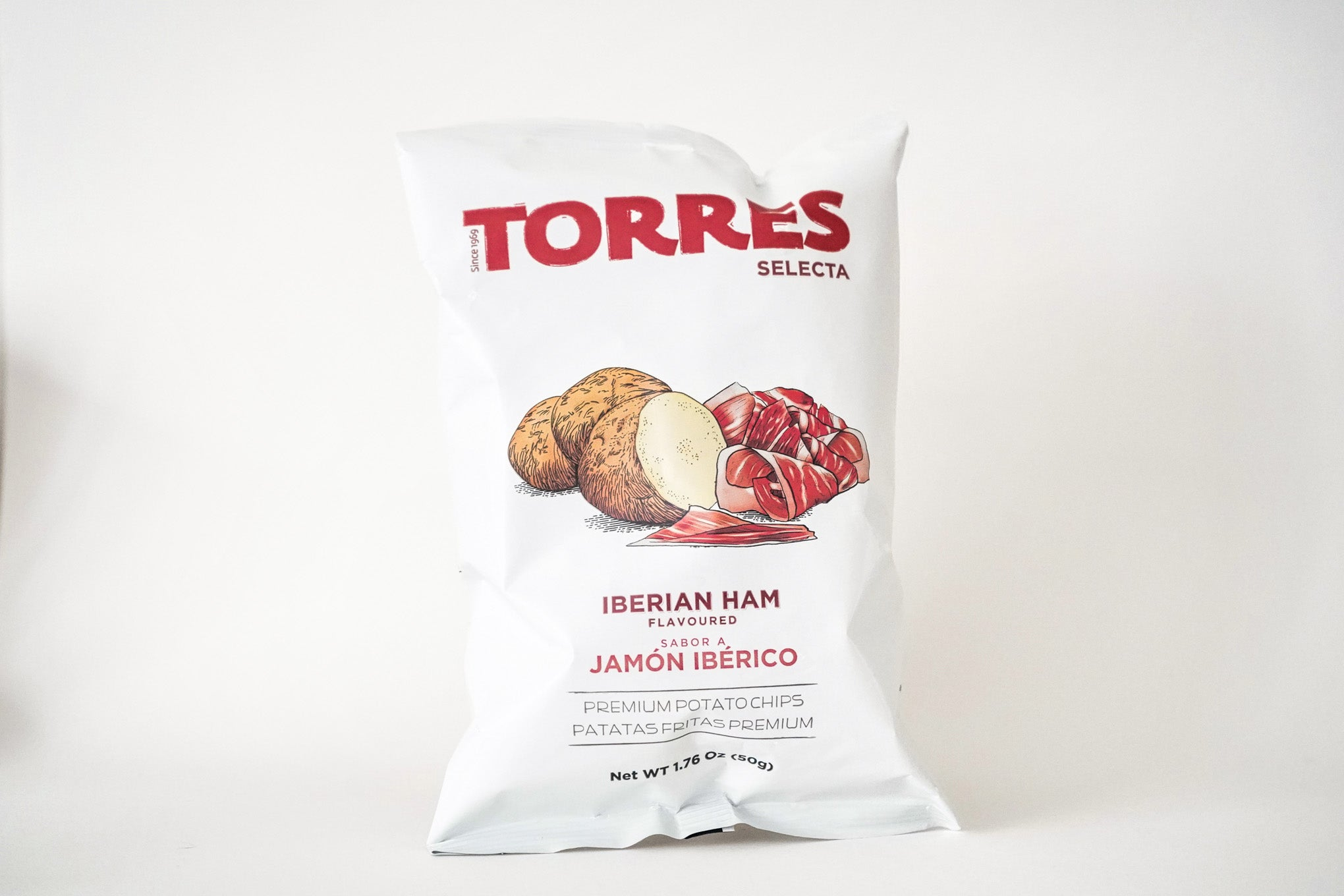 Selecta Jam—n IbŽrico Potato Chips