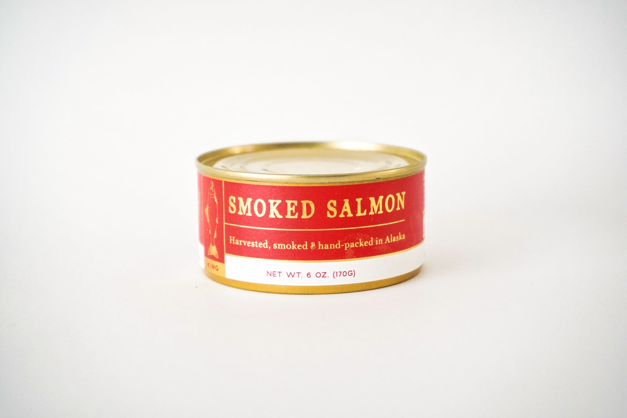 Smoked salmon can