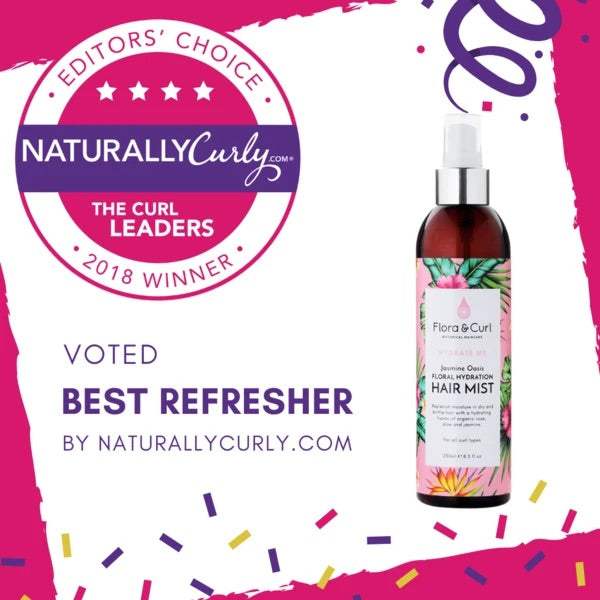 voted best refresher Flora & curl