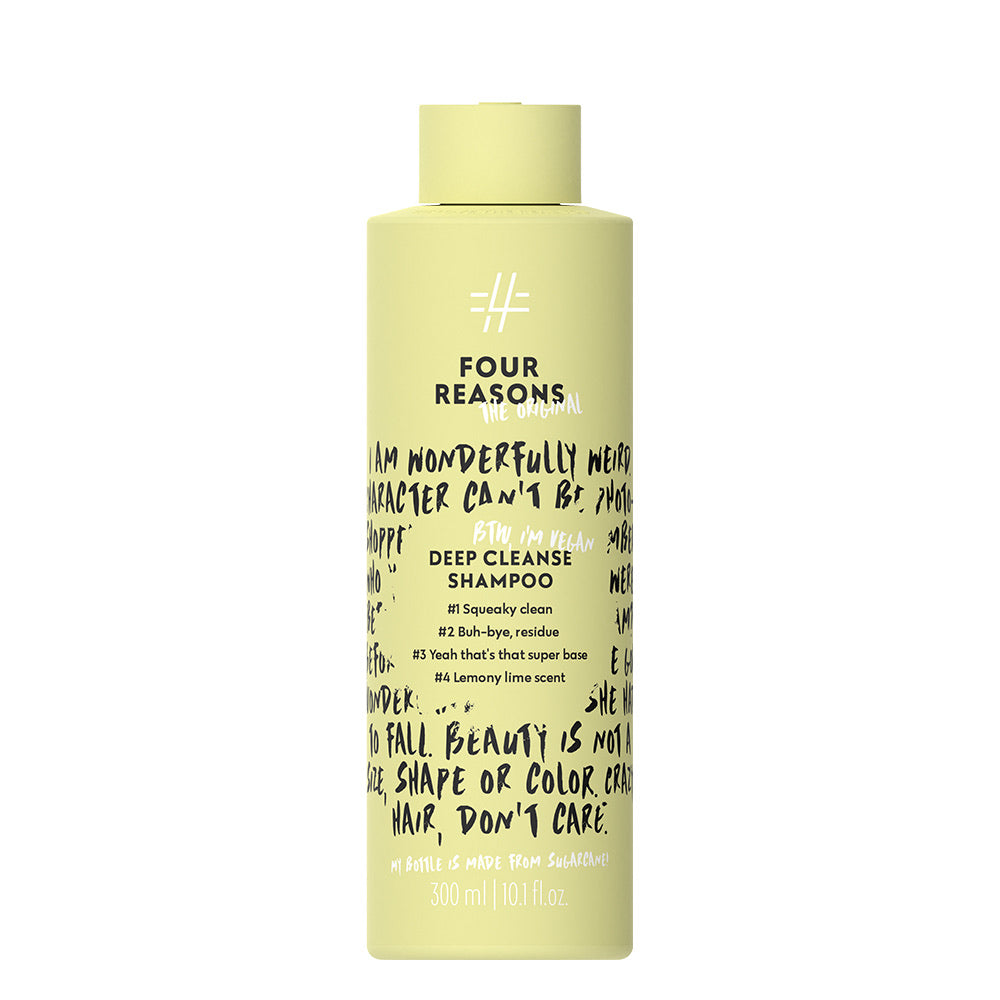 Four Reasons Original - Deep Cleanse Shampoo Final wash
