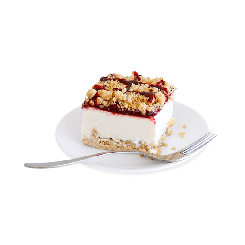 Raspberry Cheesecake Crumble