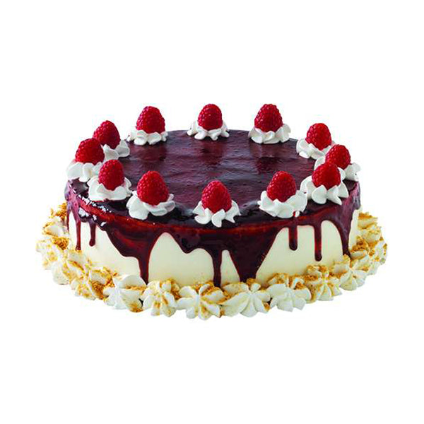 Raspberry Cheesecake Cake