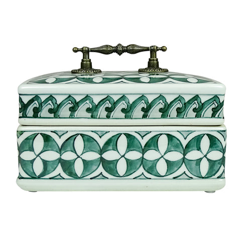 Zara Trinket Box 17cm - Falling For Willow