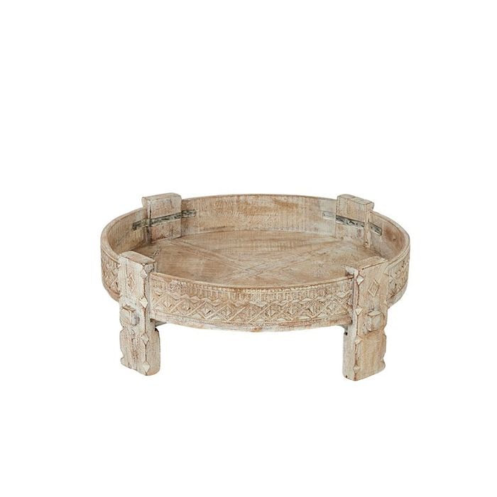Idha Wood Side Table - Falling For Willow