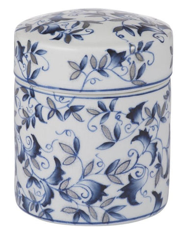 Elvira Round Deco Box - Falling For Willow