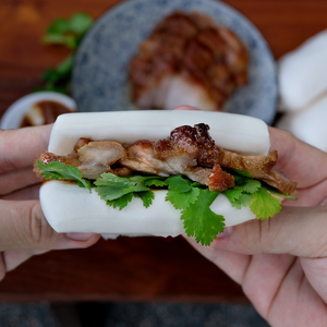 Char Siu Bun Kit - Frozen Easy to Heat (Makes 4 Buns)